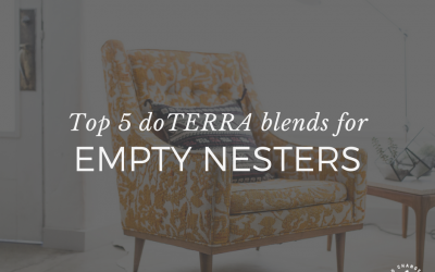 Top 5 doTERRA blends for empty nesters
