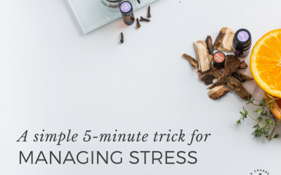 A simple 5-minute trick for managing stress