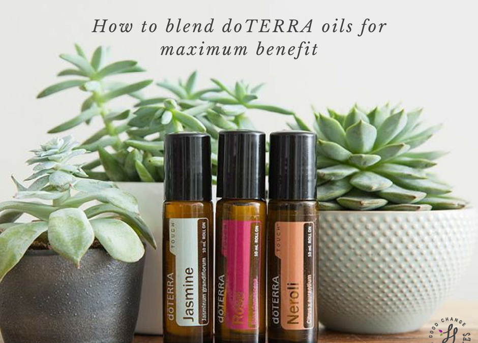 How to blend doTERRA oils for maximum benefits